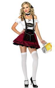Beer Stein Beauty Costume, Beer Girl Costume, Sexy Heidi Costume, #N6135