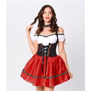 Adult Wonderland Halloween Costume, Sexy Alice Wonderland Costume, Ladies