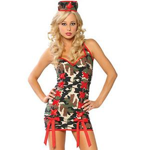 Sexy Costume,Sexy Army Nurse wholesale,Sexy Army Nurse Costume , #M2010