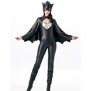 Sexy Bat Costume, Womens Bat Costume, Halloween Costume, Cheap Costume, #N11846