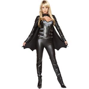 Sexy Bat Woman Costume, Sexy Bat Costume, Bat Girl Costume, #W5825