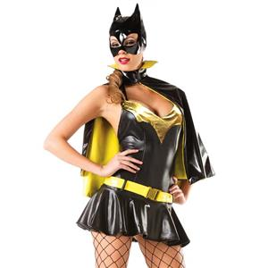 Be Wicked Sexy Batgirl Costume, Bat Girl Superhero Party Halloween Costume, Women