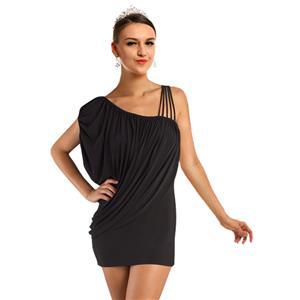 Sexy Black Cocktail Dress,  Black Cocktail Dress, short black dress, #N4493