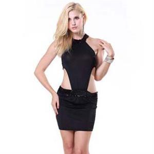Sexy Black Dress, Hot Sale Women