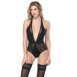 Sexy Black Bustier Corset, Fashion Body Shaper Bodysuit, Cheap Shapewear Corset, Women