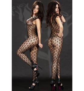 Sexy Womens Bodysuit, Fishnet Bodystocking, Black Bodystocking Lingerie, Sexy Womens Catsuit, Sheer Bodystocking, #BS11249