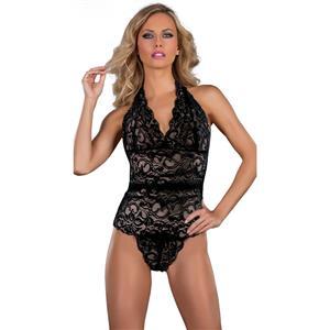 Sexy Black Teddy Lingerie, Cheap Women