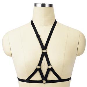 Sexy Bra Straps, Black Sexy Bundle Elastic Starps for Women, Halter Tops for women, Sexy Open Bra, Sexy Bundle Lingerie, #N18153