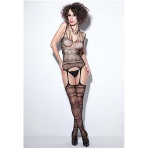 Sexy Body Stocking, Fishnet Body Stocking, Cheap Black Body Stocking, #BS9904