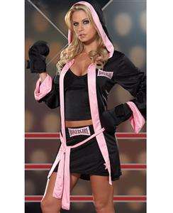 Sexy Boxer Girl Costume, Sexy Boxer Costume, Sexy Boxer Halloween Costumes, Boxer Girl Halloween Costume, #N4535