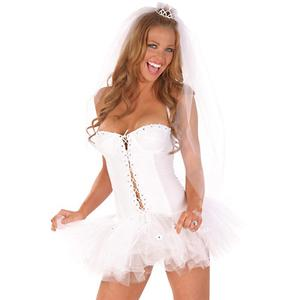 Sexy Bridal Lingerie, Honeymoon Lingerie, Bride Costumes, #N2343