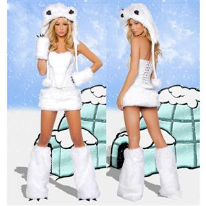 polar bear costume M1594