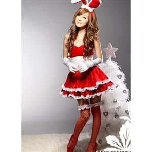 Sexy Bunny Costume, red Bunny Costume, Bunny Costume, #M1657