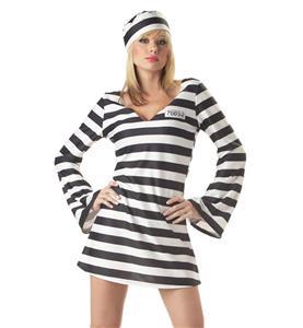 Sexy Convict Costume N10830