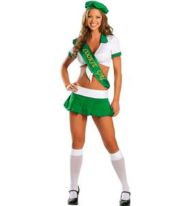 Sexy Cookie Girl Costume. Girl Scout Cookie Costume, Cookie Scout-Me-Out Costume, #N8466