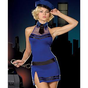 Sexy lingerie, Sexy Cop Uniform, Cop Costume, #P2122