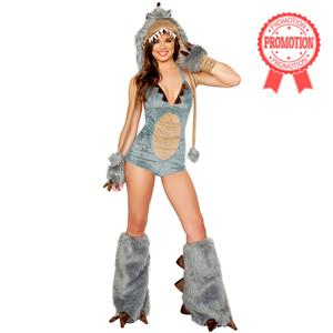 Sexy Dinosaur Costume, Dinosaur Halloween Costume, T Rex Costume, Tyrannosaurus Rex Costume, #N6725