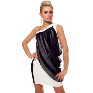 Sexy Draped Mini Dress, Sexy Black Dress, sexy mini dress, #N5625