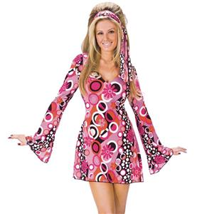 Feelin Groovy Disco Dress, Halloween Dancing Dress, Feelin