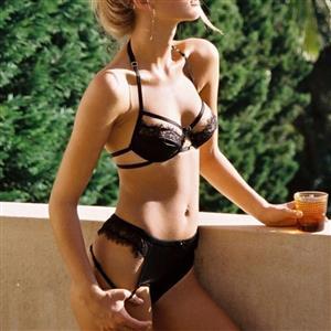 Sexy Lace Lingerie Set, Fashion Lace Bra Set, 2 Piece Thin Lace Front Buckle Bra Top Lingerie Sets, Thin Lace Bra Set Chemise, Floral Lace Bra and Panty Underwear Set, Sexy Floral Lace Bra and Panty Chemise Set, #N19380