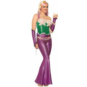 Under the Sea Costume, Beautiful Mermaid Costume, Sexy Sirena the Mermaid Costume, #N11778
