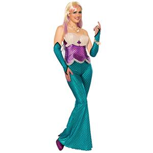 Under the Sea Costume, Beautiful Mermaid Costume, Sexy Sirena the Mermaid Costume, #N11779