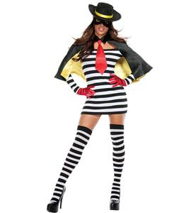 Cool Hamburglar Couple Costume, Popular Halloween Costume, Women