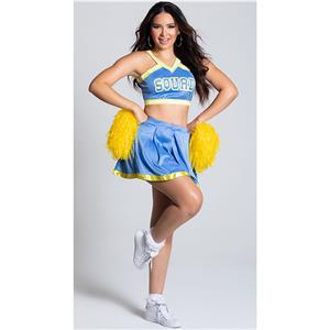Sexy Adult Cheerleader Costume, Halter Crop Top Skirt Set,Halter Crop Top Mini Skirt Set, Sexy Cheerleader Mini Skirt Set, Fashion Halter Cheerleader Costume,Halter Cheerleaders Costume, #N20995