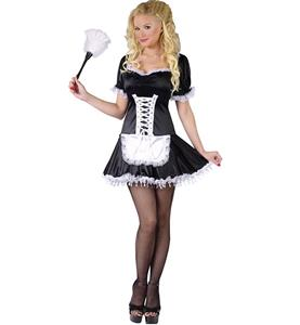 Exclusive French Maid Costume, French Maid Costume, Sexy Lacy French Maid Costume, #N8209