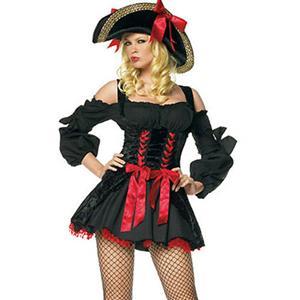 Sexy Pirate Captain Costume, Passion Pirate Costume, Sexy Pirate Captain Costume, #P7945