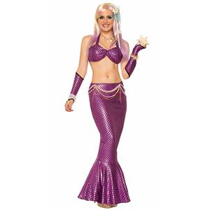 Under the Sea Costume, Beautiful Mermaid Costume, Sexy Mermaid Costume, Halloween Costume, #N11781