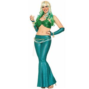 Under the Sea Costume, Beautiful Mermaid Costume, Sexy Mermaid Costume, Halloween Costume, #N11782