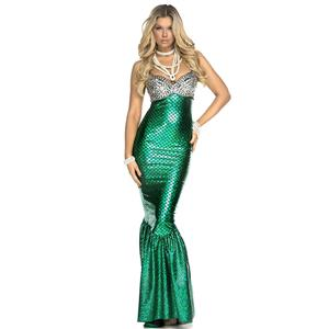 Under the Sea Costume, Beautiful Mermaid Costume, Sexy Mermaid Costume, Halloween Costume, #N12017