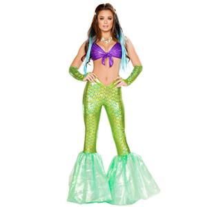 Under the Sea Costume, Beautiful Mermaid Costume, Sexy Mermaid Costume, Halloween Costume, #N14736