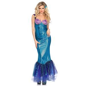 Under the Sea Costume, Beautiful Mermaid Costume, Sexy Mermaid Costume, Women