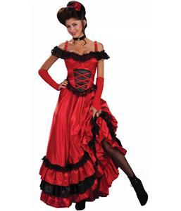 Spanish Seduction Costume, Spanish Dancer Costume, Deluxe Spicy Senorita Costume, #M2143