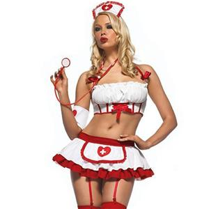 Hot Nurse Bedroom Costume, Sexy Nurse Lingerie, Sexy Nurse Cosplay Costume, Nurse Teddy Lingerie, Sexy Nurse Uniform, Nurse Temptation Costume, #N18430