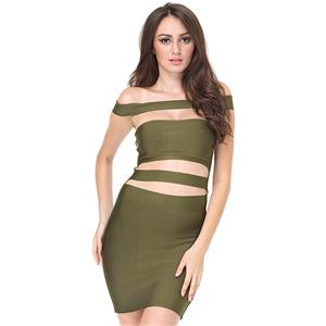 Club Dress For Women, Sexy Dresses For Women, Cut Out Bandage Dresses, Bandage Bodycon Party Dress, Faux Leather Midi Dress, Sexy Bandage Party Dress, #N15129