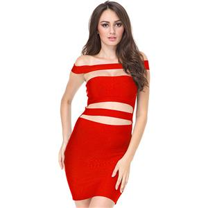 Club Dress For Women, Sexy Dresses For Women, Cut Out Bandage Dresses, Bandage Bodycon Party Dress, Black Bandage Dress, Sexy Bandage Party Dress, #N15131