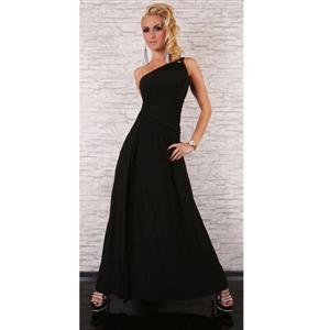 Sexy long gown, Sexy Black Gown, Black Maxi Gown, #N5630