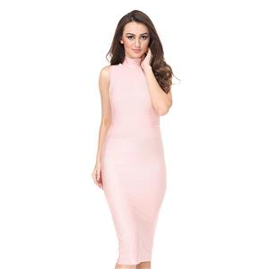 Office Lady Dresses, Sexy Dresses For Women, Pink Bodycon Dresses, Sexy Bodycon Party Dress, Bodycon Dress for Women, Midi Dress for Women, #N15141