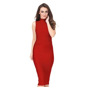 Office Lady Dresses, Sexy Dresses for Women, Red Bodycon Dresses, Sexy Bodycon Party Dress, Bodycon Dress for Women, Midi Dress for Women, Wedding Guest Dresses, #N15144