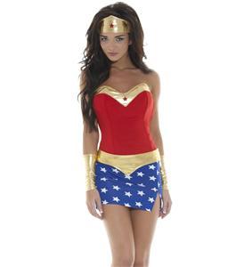 Sexy Wonder Girl Costume M986