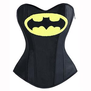 Halloween Costume Corset, Burlesque Corset for Women, Sexy Superhero Costume Cosplay, Superwoman Cosplay Corsets, #N14640
