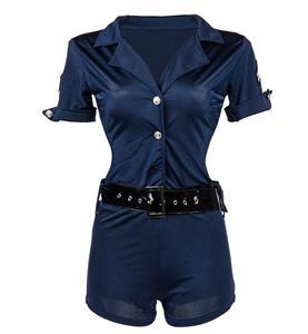Sexy Policewoman Halloween Costume N11289