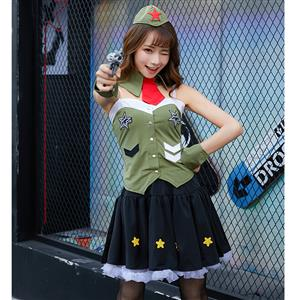 Adlut Army Costume, Women