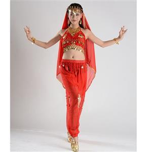 Sexy Genie Costume, Lamp Fancy Dress Costume, Women