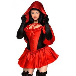 Luxury Costume Sets, Riding Hood Costume, Halloween Costume, Cheap Women