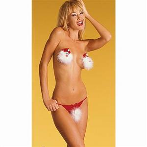 Sexy Red Christmas Lingerie XT9846