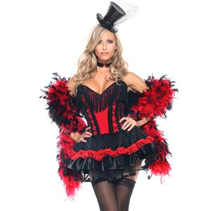 Sexy Saloon Seductress Costume, Saloon Girl Costume for Women, Burlesque Costume for Women, #N4973